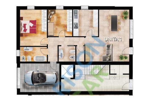 Unità 1 – Condominio ad Albignasego (S.Tommaso)
